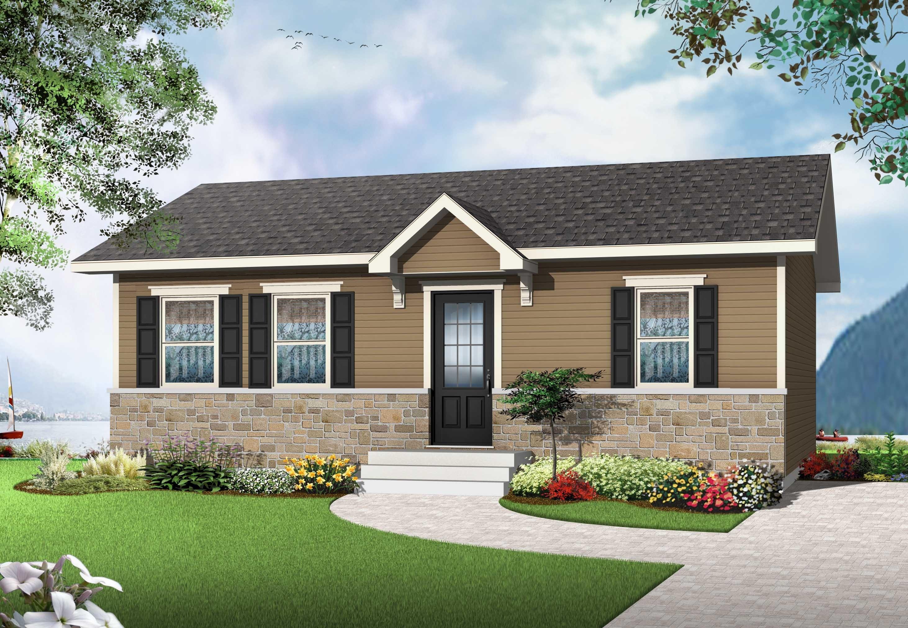 Premium habitations mont carleton for Mini maison usinee
